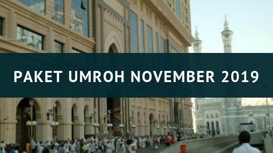 Paket Umroh November 2019 Khazzanah Tour Pilihannya