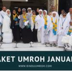 Paket Umroh Januari 2019 Berkahnya di Awal Tahun Ini