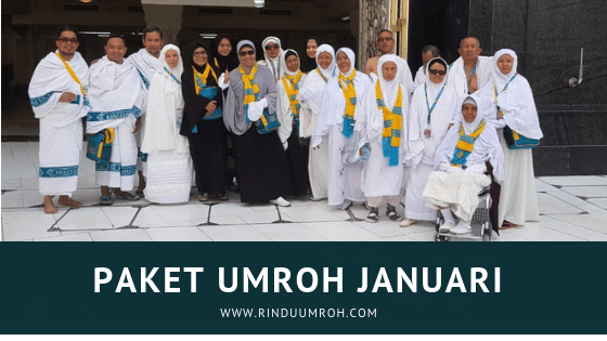 Paket Umroh Januari 2019